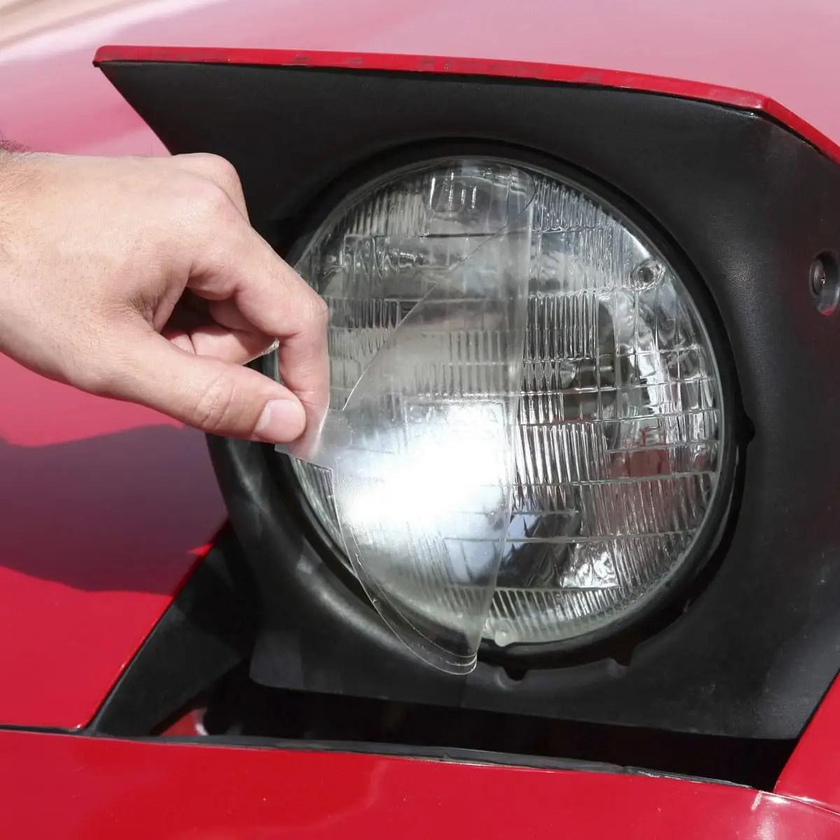 hight resolution of lamin x headlamp shield pair
