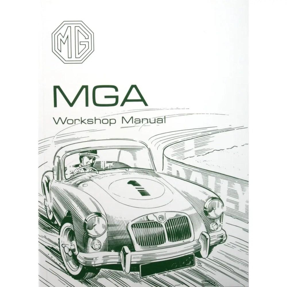 medium resolution of book factory workshop manual reprint mga except twin cam