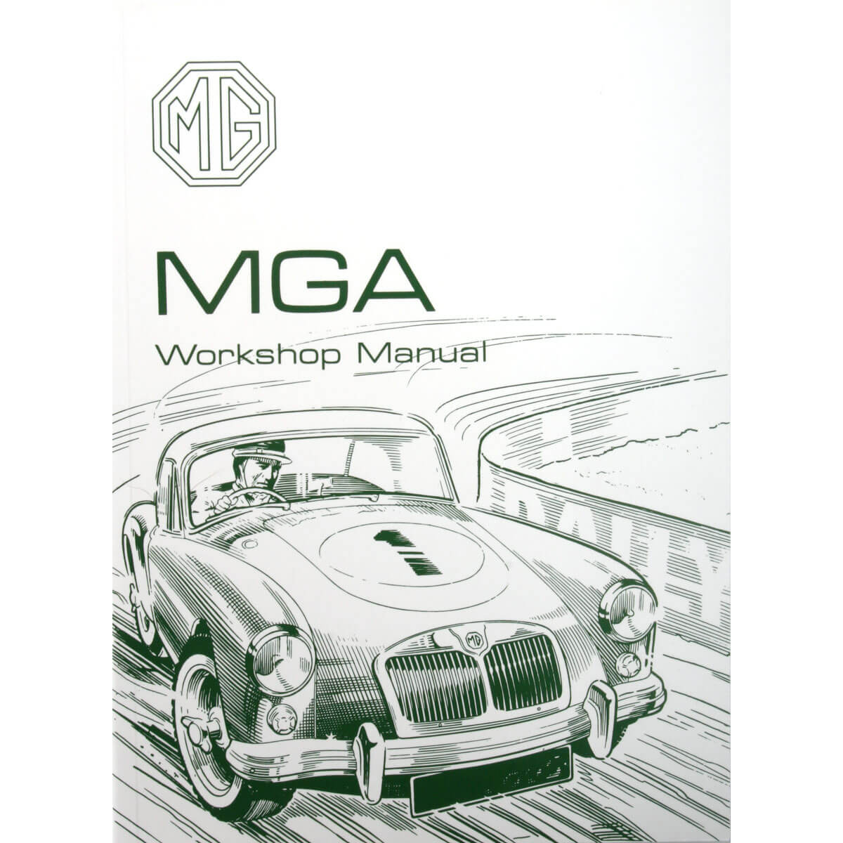 hight resolution of book factory workshop manual reprint mga except twin cam