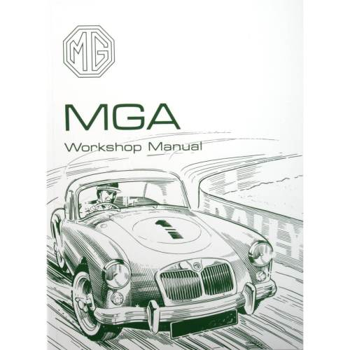 small resolution of book factory workshop manual reprint mga except twin cam
