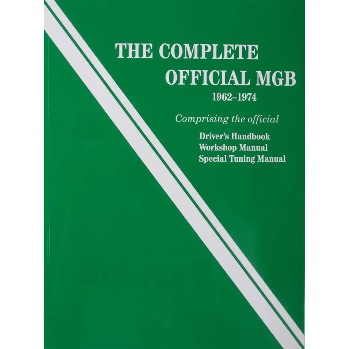 hight resolution of book bentley workshop manual mgb 1962 74