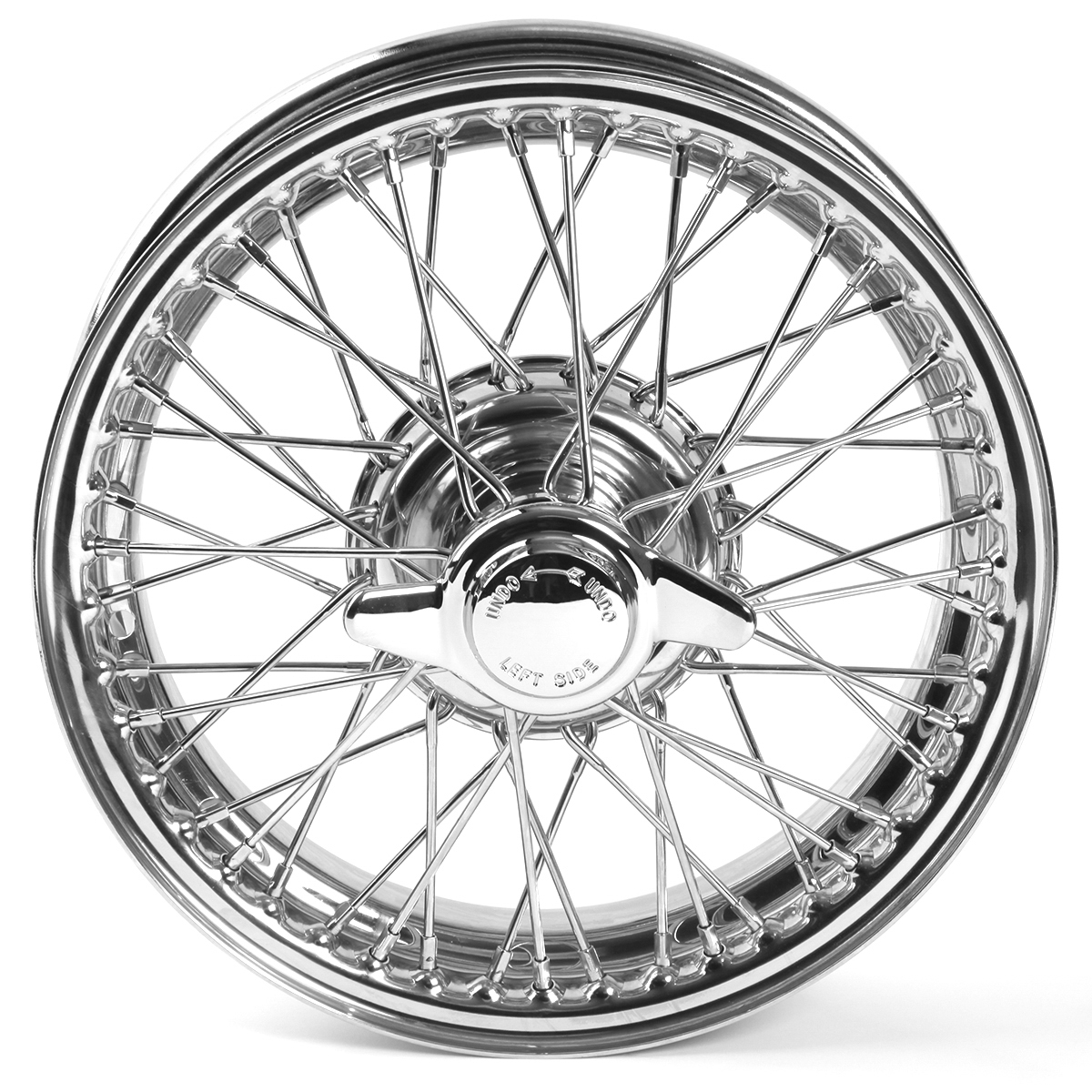 454 630 wire wheel chrome 15\