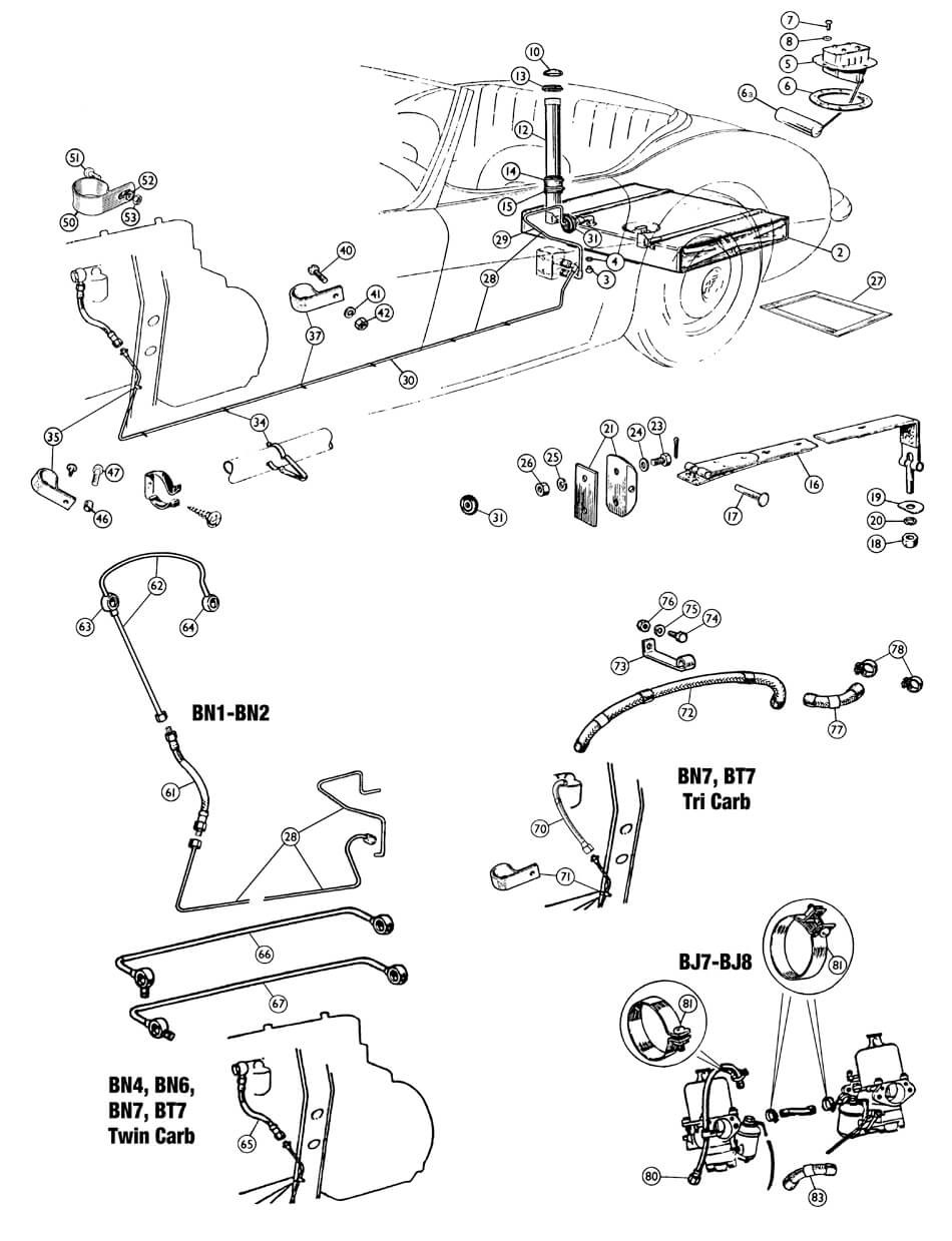 Austin Healey Sprite Mk Wiring Diagram Complete Diagrams