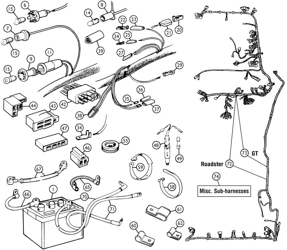 1962 Mga Wiring Diagram Auto Electrical 2004 3500 Dodge Diesel Engine Related With