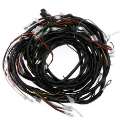 Triumph Spitfire Wiring Harness Honeywell Junction Box Diagram 357 551 Main And Rear Moss Motors
