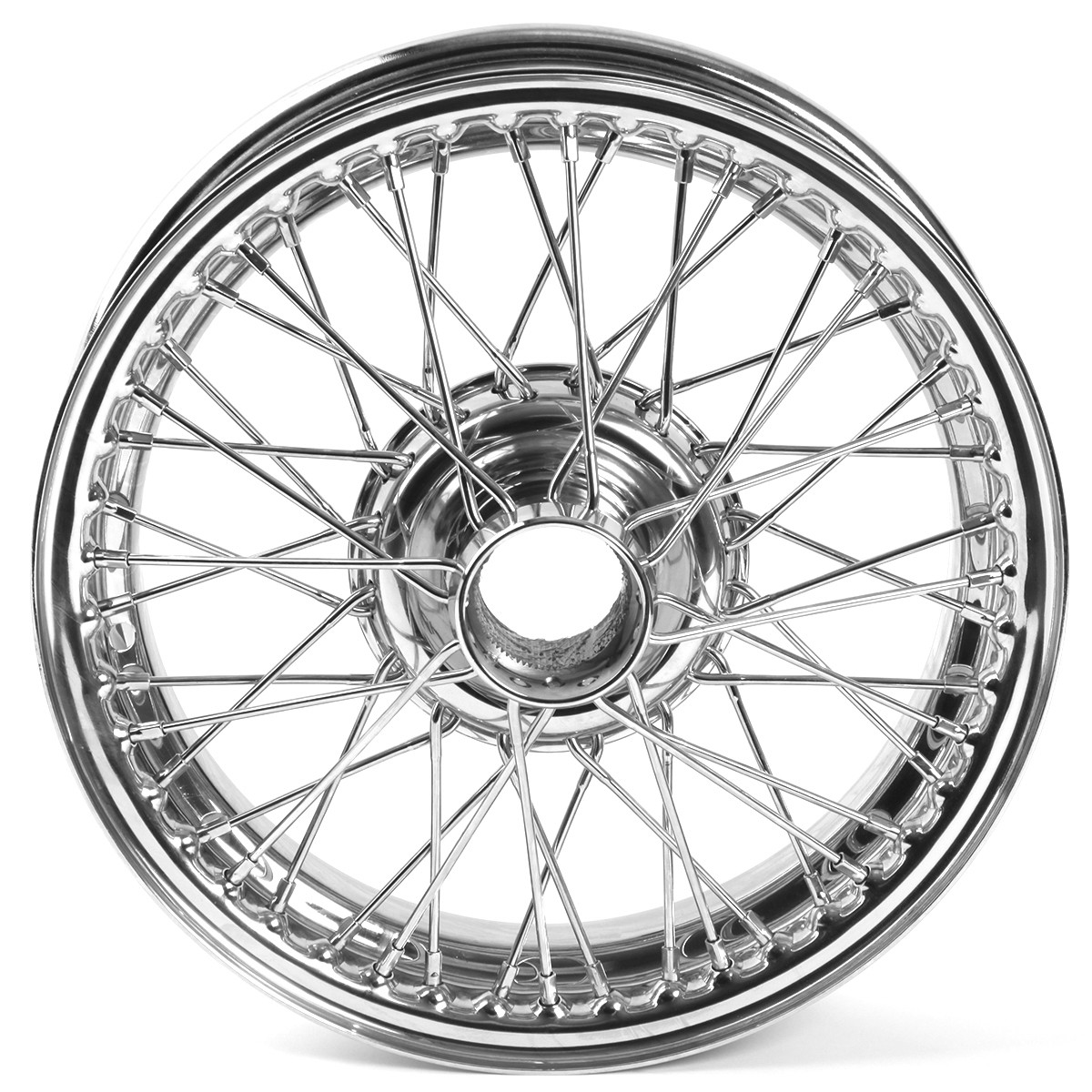 454 615 Wire Wheel Chrome 15 X4 48 Spoke Tube Type
