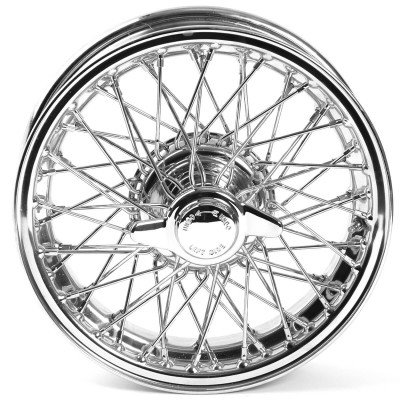 454-630 Wire Wheel, Chrome, 15