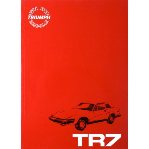 small resolution of factory shop manual tr7