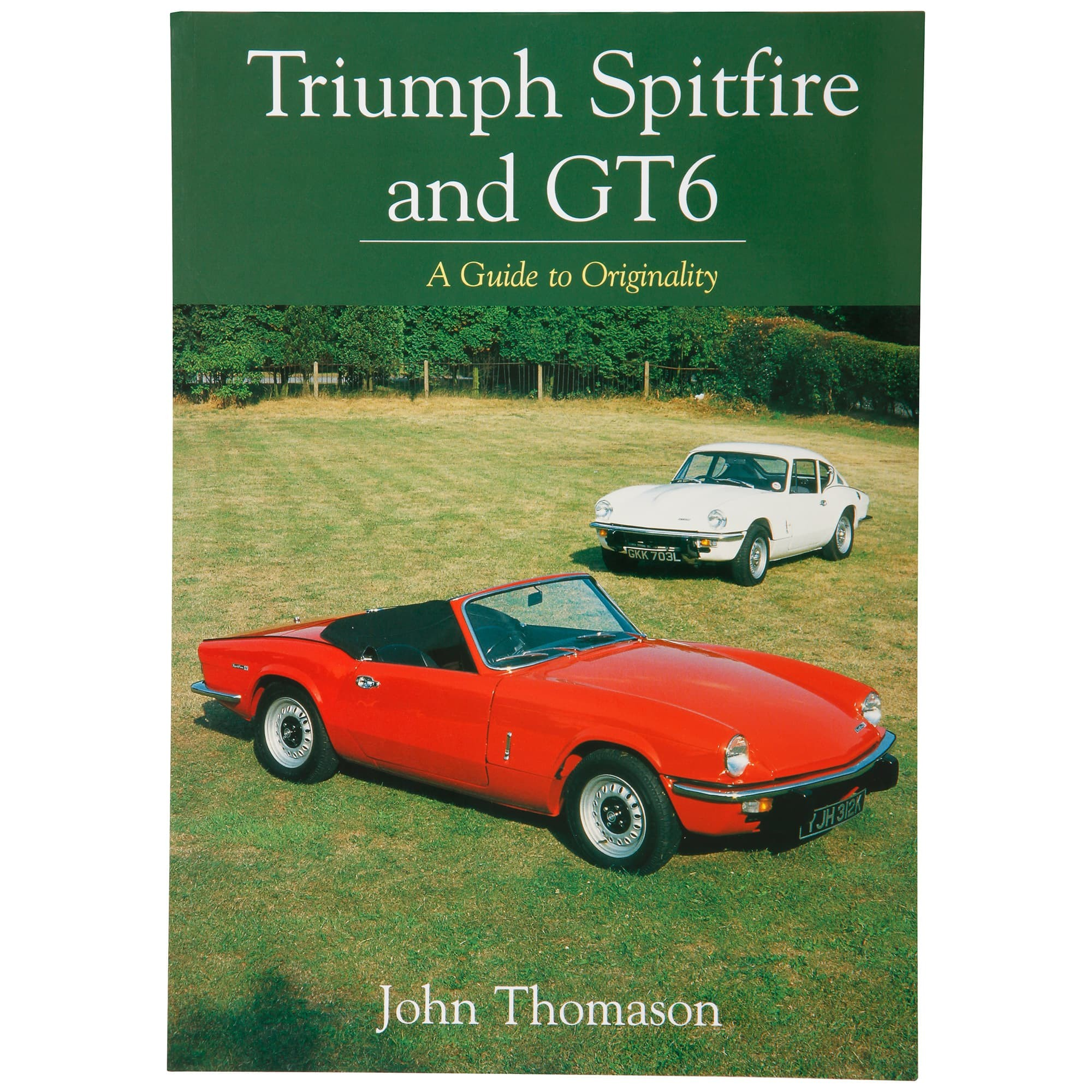 hight resolution of book triumph spitfire gt6 a guide to originality