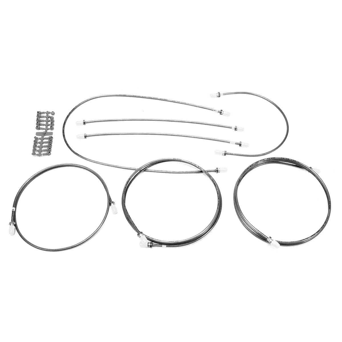 588 208 Brake Pipe Set Dual Line Left Hand Drive