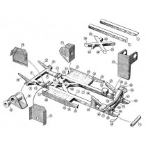 Chassis & Frame components for your Austin Healey 100, 100