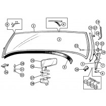 Windshields, mirrors, parts and accessories for your