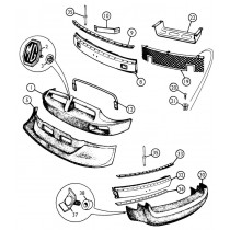Bumpers, grilles, parts and accessories for your MGB