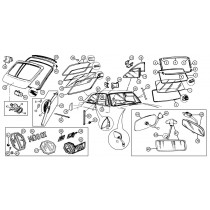 Windshields, mirrors, parts and accessories for your MGB