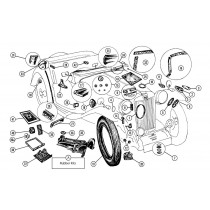 Body trim, body fittings, parts and accessories for your