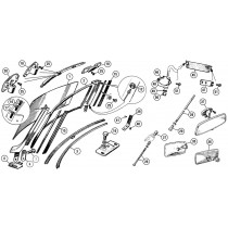 Windshields, mirrors, parts and accessories for your MG