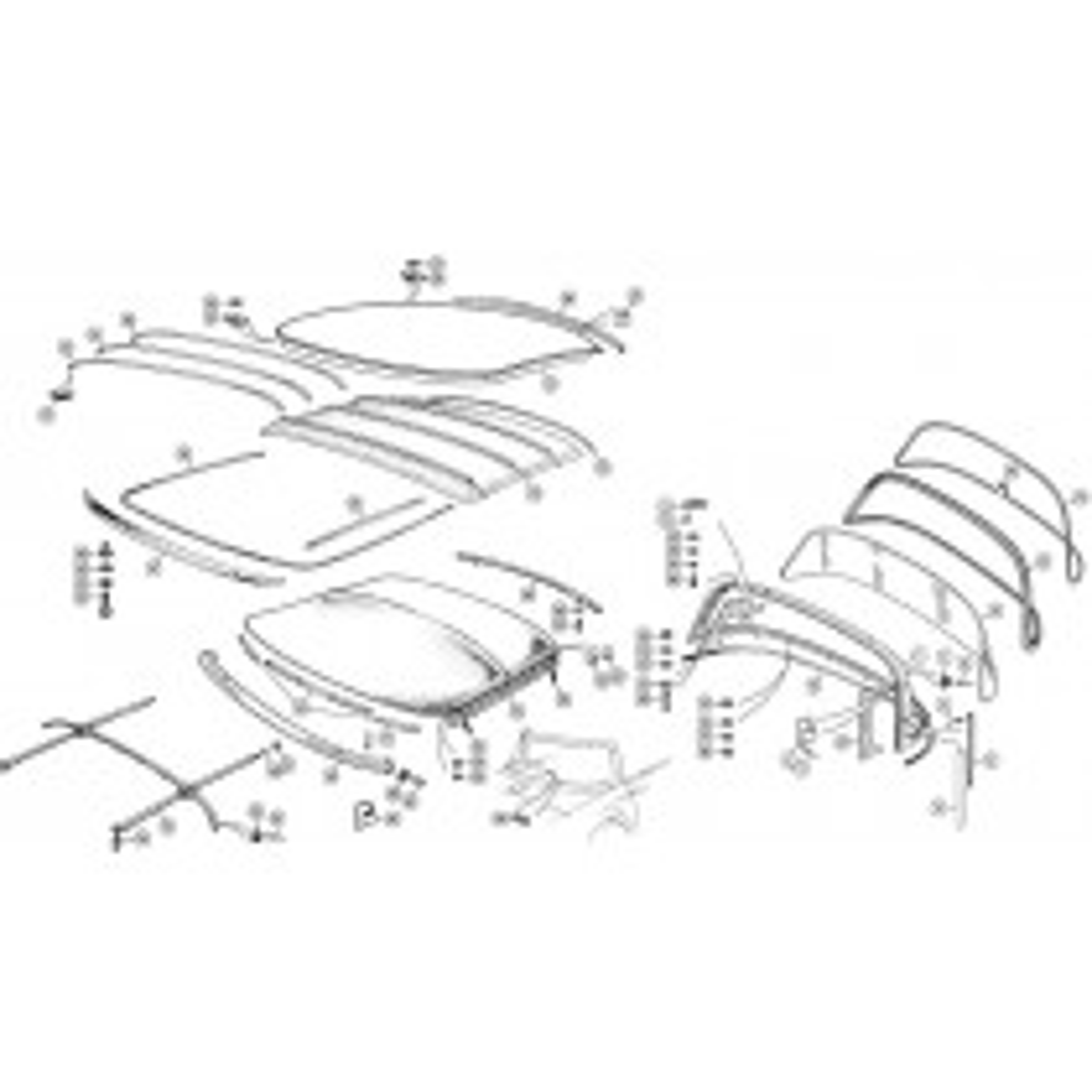 Tops, tonneaus & side curtains for your Triumph TR2, TR3