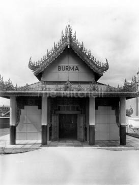 Empire Exhibition Burma building