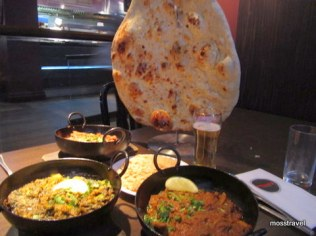 The biggest Naan in the world!