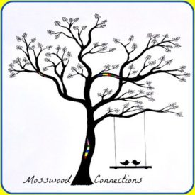 MosswoodConnections Logo Postcard