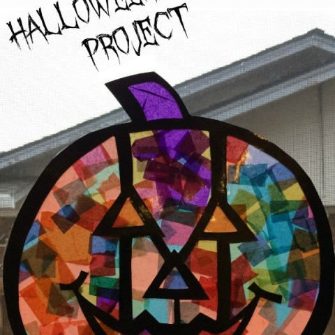 Stained Glass Art Activity