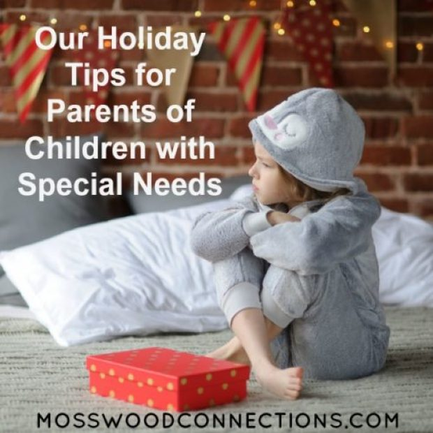 Holiday Tips for parents of children with special needs can help make your holidays go smoothly.