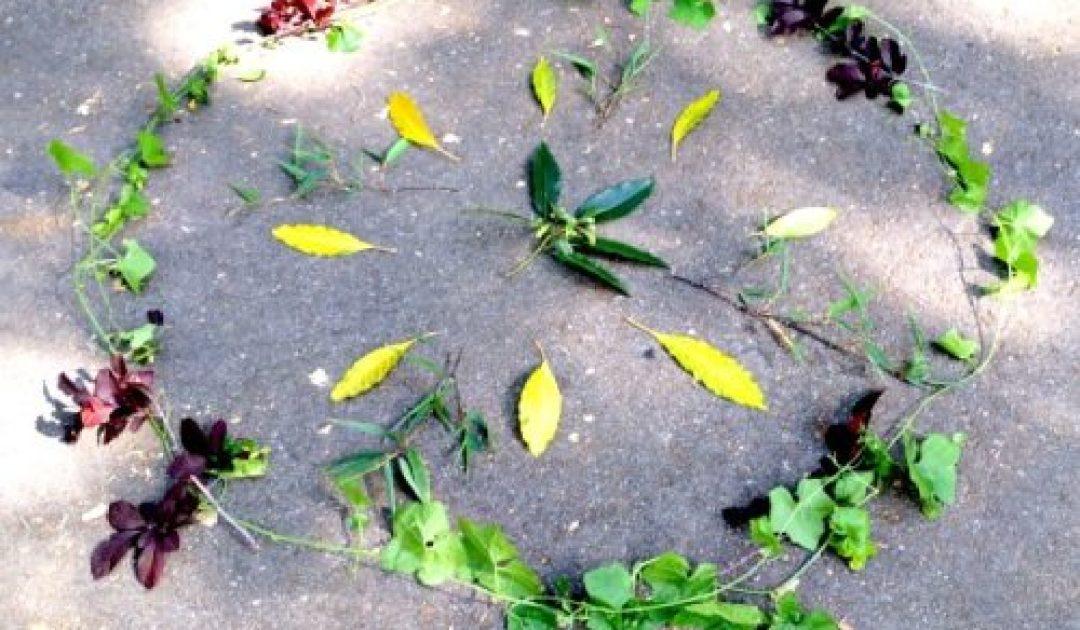 Nature Treasure Hunt Mandala Scavenger Hunt & Visual Processing Activity