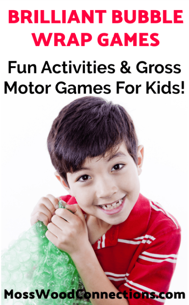 Brilliant Bubble Wrap Activities & Gross Motor Games for Kids
