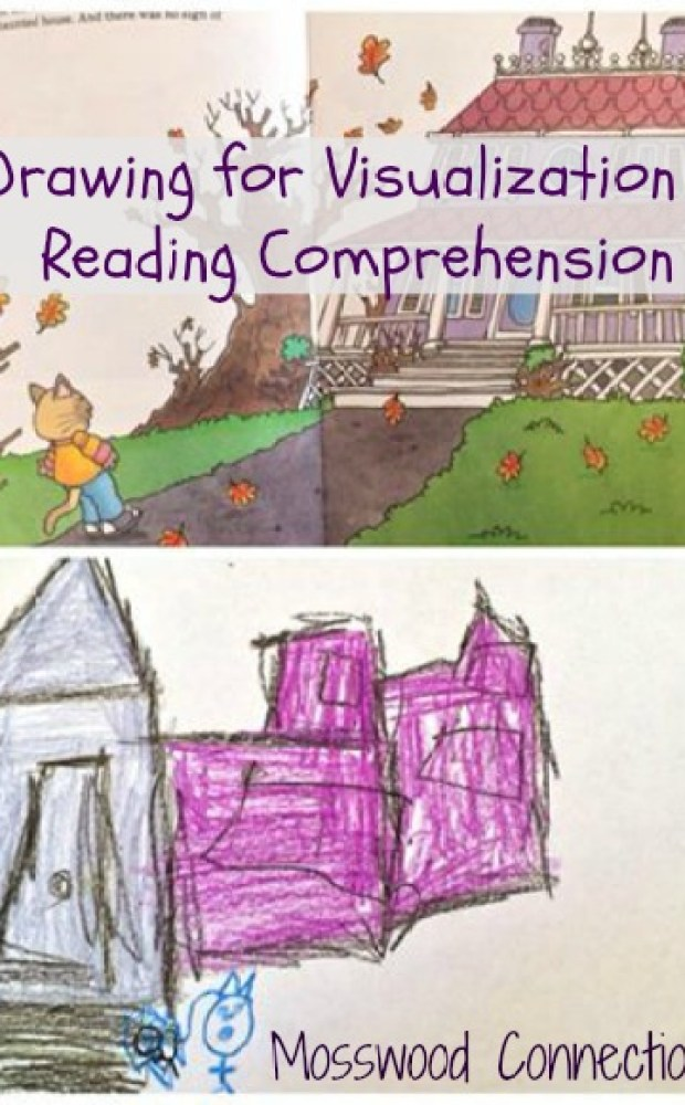 Drawing For Visualization & Reading Comprehension Visualizing strengthens reading comprehension skills