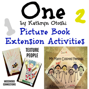 One by Kathryn Otoshi - Picture Book Month Extension Activities