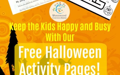 Keep the Kids Happy and Busy With Our Free Halloween Activity Pages!