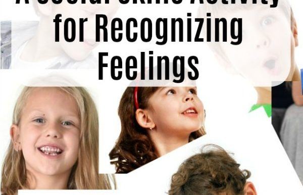 Teaching children about to recognize their feelings and the feelings of others through fun social skills games