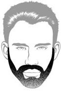 Beard Types - Long Stubble - Heavy Stubble Beard - Mossy Beard
