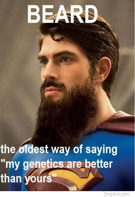 Beard Genes are Better