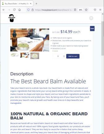 Where to Buy Beard Balm Online Specialty Store