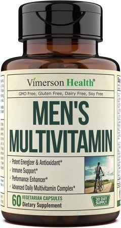 Mens Daily Multivitamin Supplement