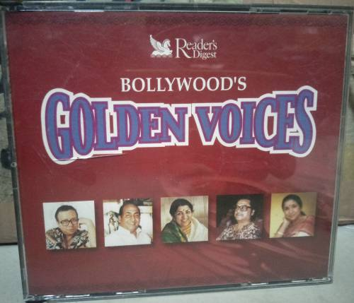 Bollywood's Golden Voices - Audio CD - Hindi - 5 CD Pack - mossymart.com