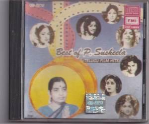 Best of P. Suseela Telugu Audio CD - www.mossymart.com