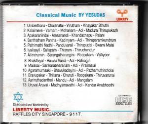 Classical Music by KJ Yesudas Vol. 4 - www.mossymart.com
