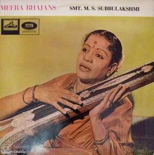 Meera Bhajans ( carnatic) by M.S.Subulakshmi ) LP viny Record www.mossymart.com