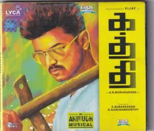 Kaththi - Tamil Audio CD by Anirudh Ravichander - www.mossymart.com