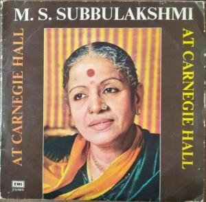 Classical LP Vinyl Record by MS Subbulakshmi www.mossymart.com