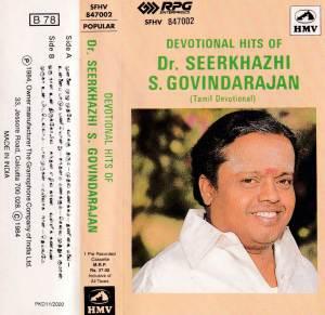 Devotional Hits of Seerkazhi S. Govindarajan - Tamil Audio Cassette by Seerkazhi S. Govindarajan - www.mossymart.com
