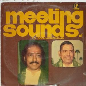 Meeting Sounds of T.V.Gopalakrishanan LP Vinyl Record www.mossymart.com