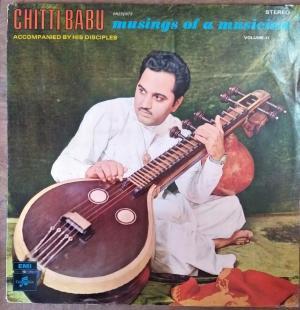 Musings of a Musicians LP Vinyl Record by Chitti babu www.mossymart.com