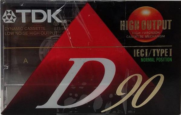 TDK D90 Cassette