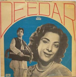 Deedar Hindi Film LP Vinyl Record by Naushad www.mossymart.com