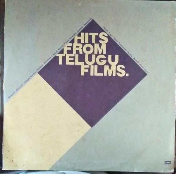 Hits from Telugu FIlms LP Vinyl Record www.mossymart.com