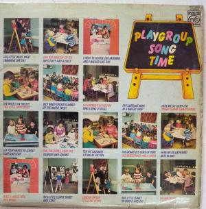 Playgroup Song Time LP Vinyl Record www.mossymart.com