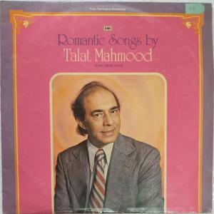 Romantic Songs by Talat Mohmaood Hindi LP Vinyl Record www.mossymart.com